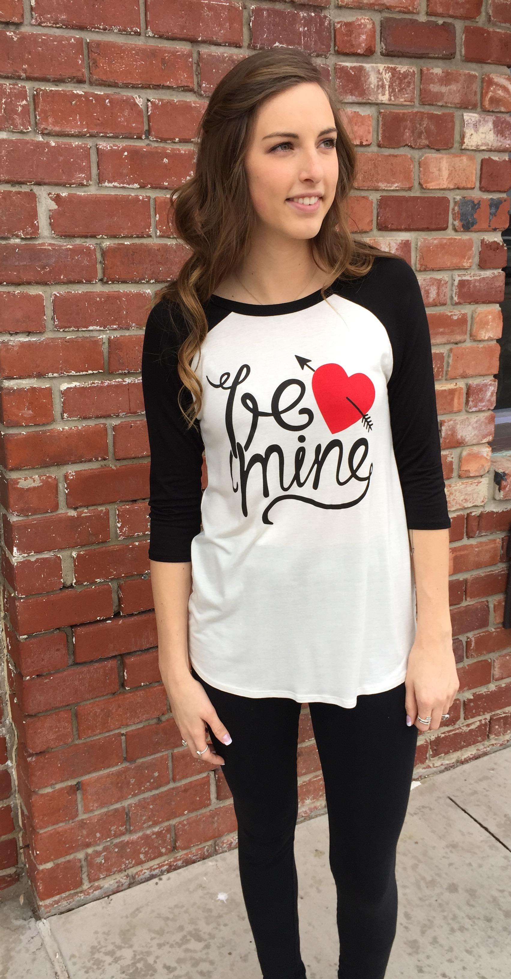 Be Mine Valentine Tee